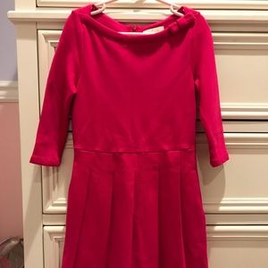 Kate Spade Pink 3/4 Sleeve Dress